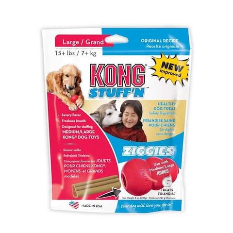 Kong Stuff'N Ziggies Adult Dog Treat