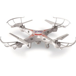 2.4G 4-CH RC Quadcopter Drone with 2.0MP Camera and Headless Mode