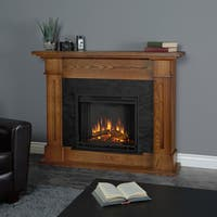 Kipling Electric Fireplace Burnished Oak by Real Flame