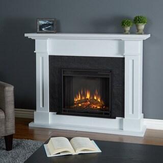 Kipling Electric Fireplace White - 53.5L x 13.7W x 41.5H