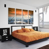 Ready2HangArt Bruce Bain 'Daring Oasis'  Canvas Art