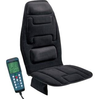 Relaxzen 10 Motor Black Massage Cushion with Heat