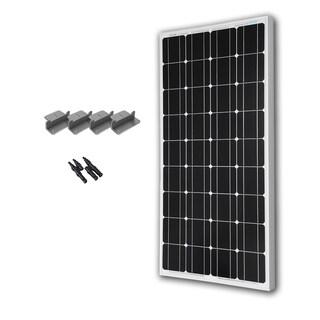 Renogy 100 Watts 12 Volts Monocrystalline Solar Expansion Kit (3 options available)