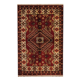 Nourison Hand Tufted Caspian Red Wool Rug 8 0 X 10 6