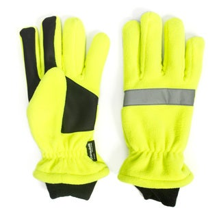 High Vis Waterproof Fleece Gloves