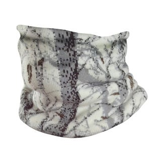 QuietWear Camo Knit Neck Gaiter