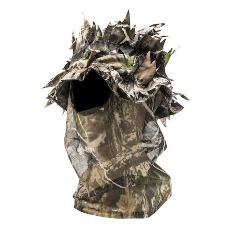 3D Leafy 1 Hole Open Face Mask