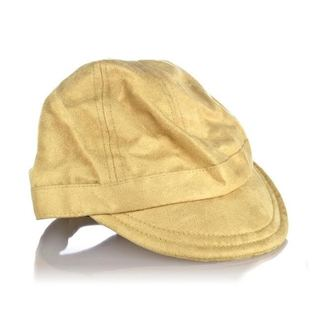 Crummy Bunny Boy's Faux Suede Tan Hat