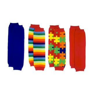 Crummy Bunny Autism Awareness Leg Warmers (Set of 4)