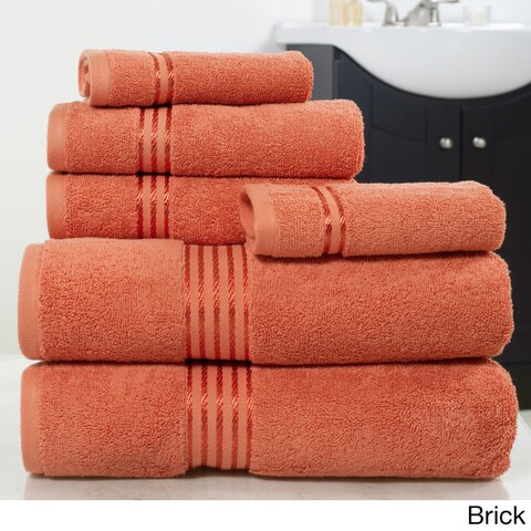 Windsor Home 100-percent Cotton Hotel 6-piece Towel Set