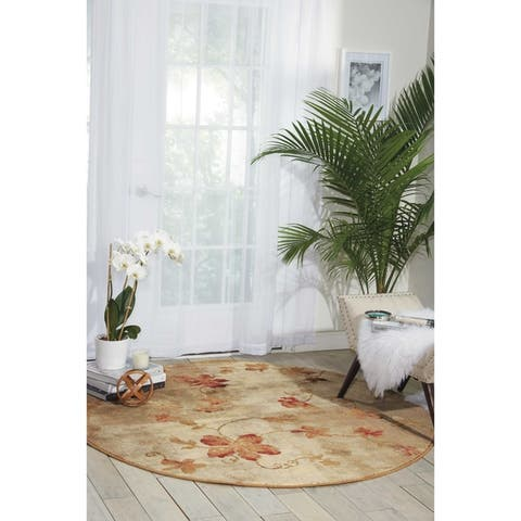 Nourison Somerset Casual Floral Area Rug