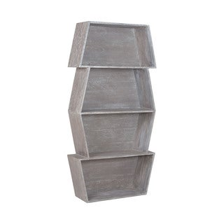 LS Dimond Home Glenn Stackable Bookcase