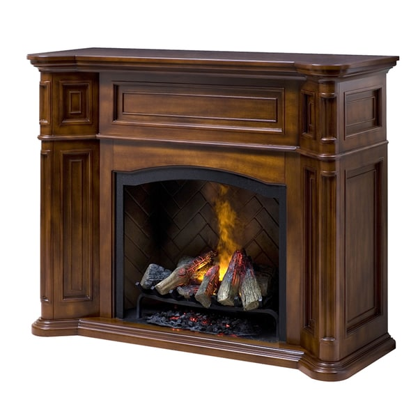 overstock inch shipping electric in espresso console with home media tv fireplace garden stand product free