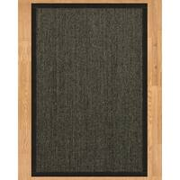 Handcrafted Shadows Sisal 10' x 14' Rug - Black