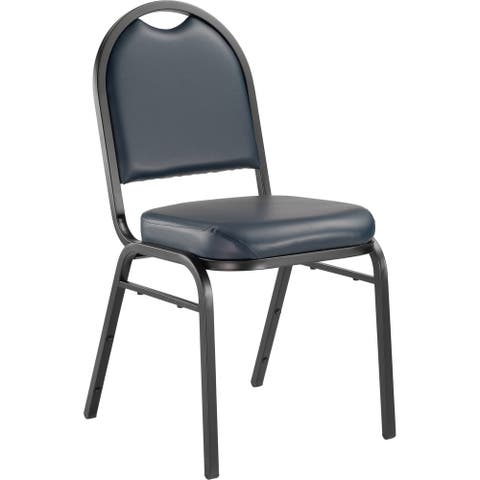 (4 Pack) NPS 9200 Series Premium - Vinyl Upholstered - Banquet Stack Chair