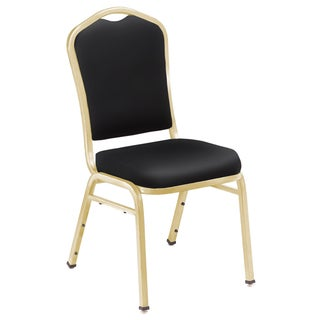 9300 Series Vinyl Stack Chairs - 4 Pack