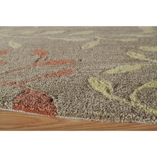 "Palma Brown Branches Rug (5'x7'6"")"