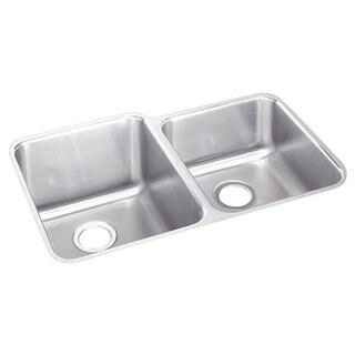 Elkay Gourmet (UM) 60/ 40 Stainless Steel Double Bowl Kitchen Sink