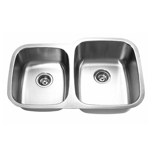 Designer Stainless Steel Sinks : Designer Collection 40/ 60 Stainless Steel Double Bowl Kitchen Sink ...
