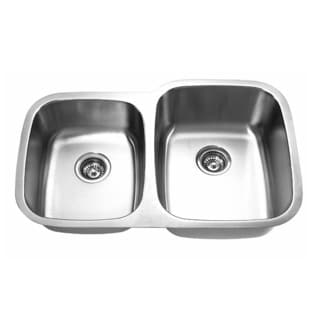Designer Collection 40/ 60 Stainless Steel Double Bowl Kitchen Sink