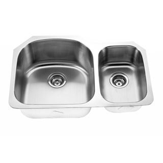 Designer Collection 70/ 30 Stainless Steel Double Bowl Kitchen Sink