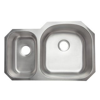 Designer Collection Stainless Steel 30/ 70 Double Bowl Kitchen Sink