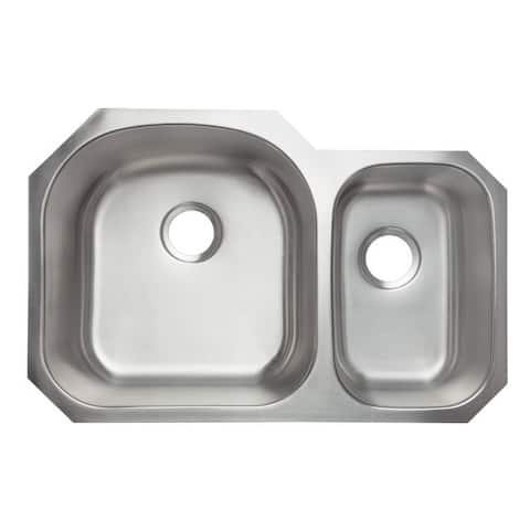 Designer Collection Stainless Steel Double Bowl 70/ 30 Kitchen Sink