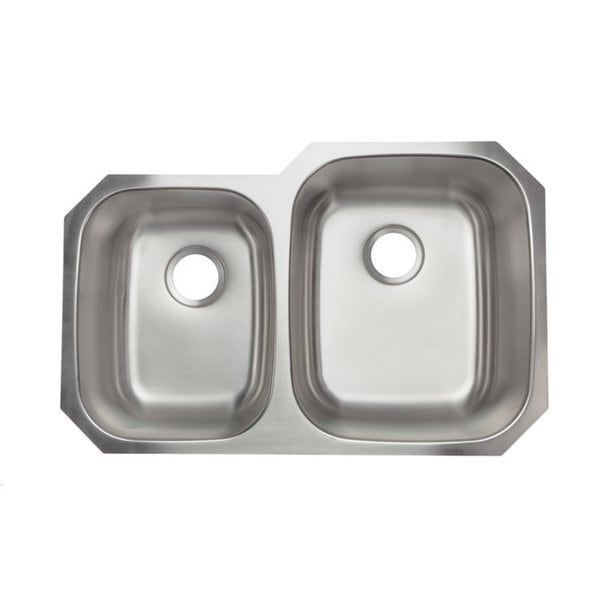 Designer Collection Double Bowl Stainless Steel Kitchen