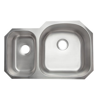 Designer Collection Stainless Steel Double Bowl Kitchen Sink