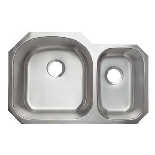 Designer Collection Double Bowl 70/ 30 Stainless Steel Kitchen Sink