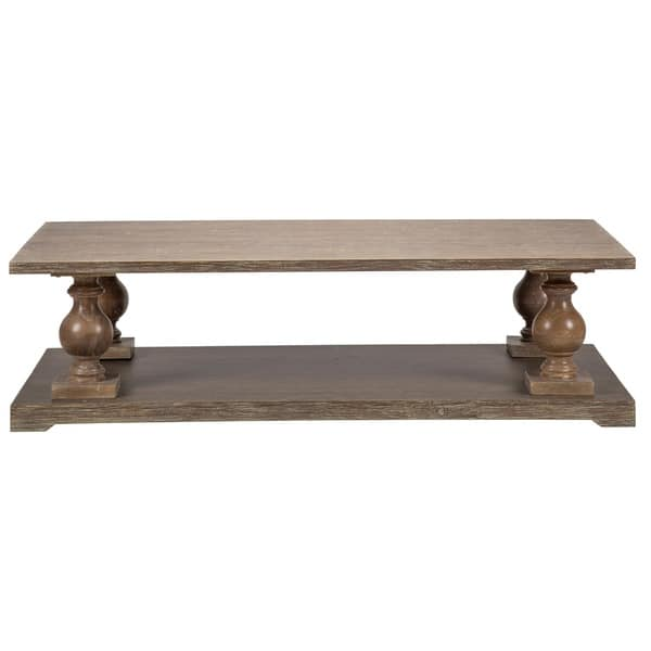 Parvin 65 Inch Reclaimed Pine Coffee Table By Kosas Home Overstock 10353145
