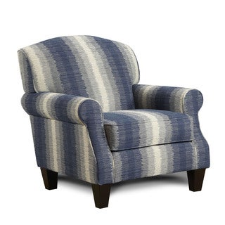 Furniture of America Nadia Contemporary Striped Arm Chair
