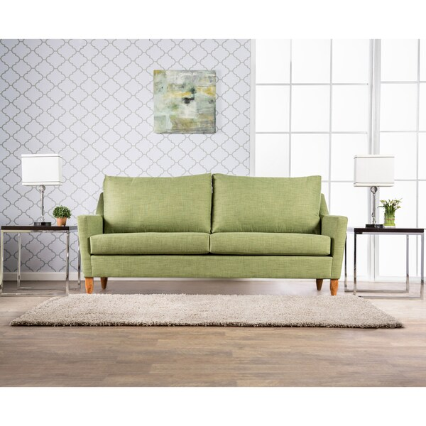 Furniture Of America Beckett Modern Mid Century Flared Sofa Free Shipping Today Overstock