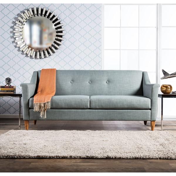 Shop Winslow Mid Century Modern Tufted Sofa By Foa Free