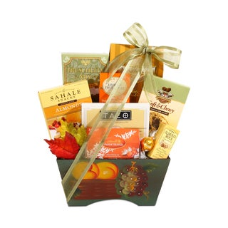 Alder Creek Fall Harvest Elegant Gift Basket