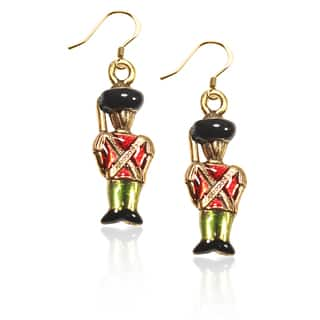 Gold over Silver Nutcracker Charm Earrings|https://ak1.ostkcdn.com/images/products/10353190/P17461994.jpg?impolicy=medium