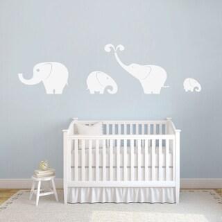 Elephants Wall Decals Set