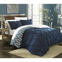 Chic Home Talitha Pinch Pleat 7-piece Duvet Set with Sheet Set