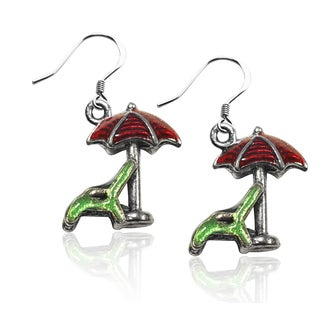 Sterling Silver Beach Chair and Umbrella Charm Earrings|https://ak1.ostkcdn.com/images/products/10353247/P17462021.jpg?_ostk_perf_=percv&impolicy=medium