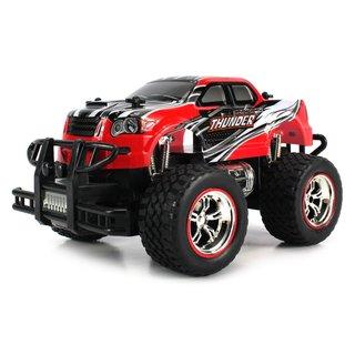 Velocity Toys Mini V-Thunder Storm 1:24 Off Road Series RC Monster Pickup Truck