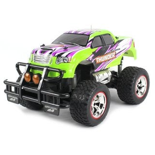 Velocity Toys V-Thunder Pickup Big 1:14 Scale Size Lights and Music Series RC Truck