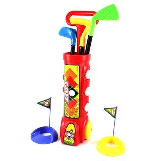 Velocity Toys Deluxe Kid's Happy Golfer Toy Golf Set