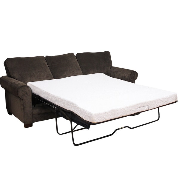 PostureLoft Kendall 4.5 Inch Twin Size Cool Gel Memory Foam Replacement Sofa  Bed Mattress