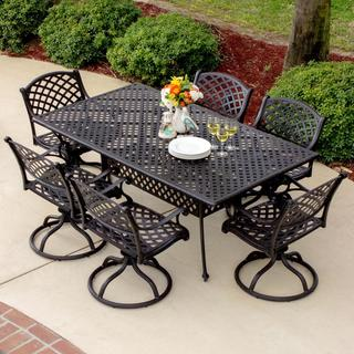 Heritage 6-Person Cast Aluminum Patio Dining Set