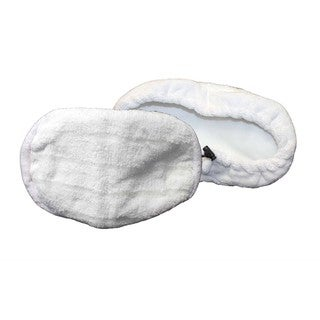 2pk Replacement Microfiber Steam Mop Pads, Fits Bissell Steam Mop, Compatible with Part 203-2158, 3255, 32525 & 42G3A