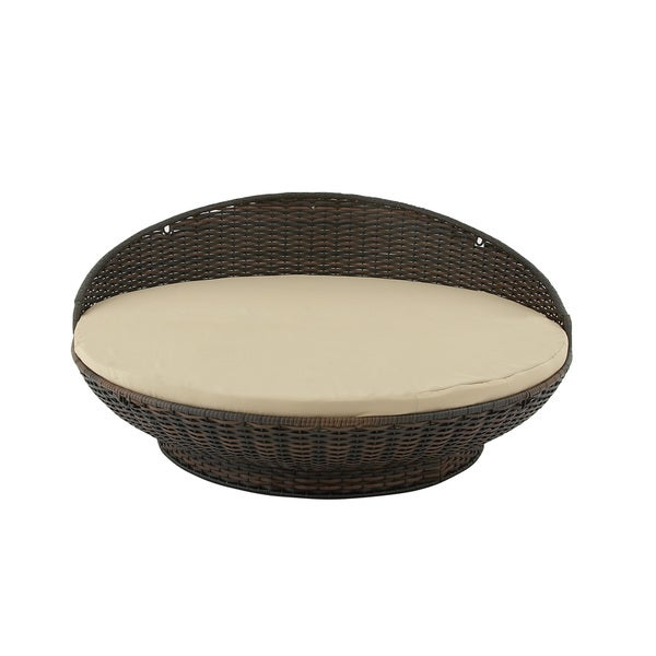 Rattan Egg Shaped Daybed