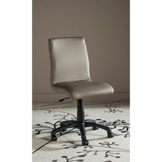 "Safavieh Office Grey Hal Desk Chair - 18.1"" x 22.4"" x 32.5"""