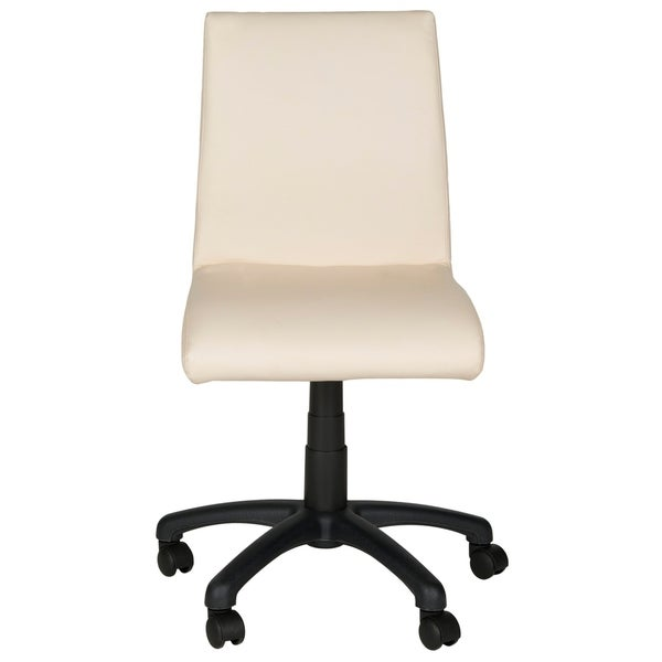 "Safavieh Office White Hal Desk Chair - 18.1"" x 22.4"" x 32.5"""