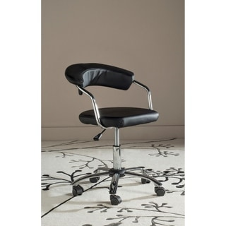Safavieh Office Black Pier Desk Chair