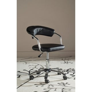 Safavieh Office Black Pier Desk Chair